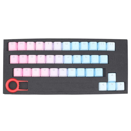 Huyun 37 Key PBT Cherry MX Keycaps - Sunset - Store 974 | ستور ٩٧٤