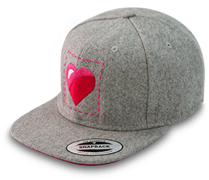 ILQ Limited Grey Cap  (with pink undervisor) - Store 974 | ستور ٩٧٤