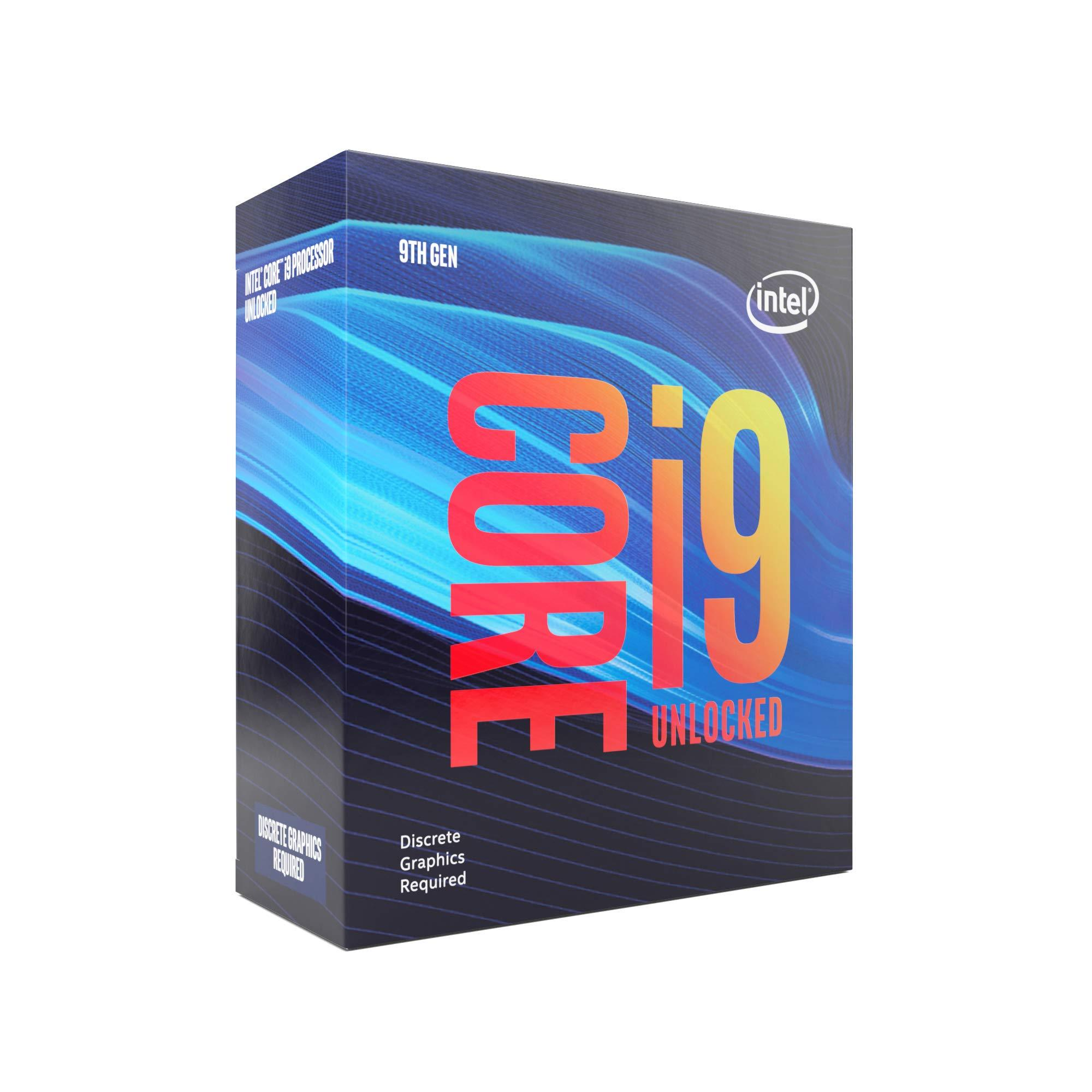 Intel Core i9-9900KF, 8 Core, 16 Threads, 3.6GHz,LGA1151 CPU