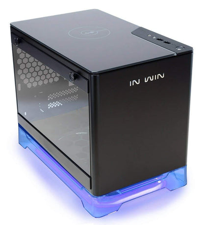 InWIn A1 Mini ITX Tower Case - Black - Store 974 | ستور ٩٧٤