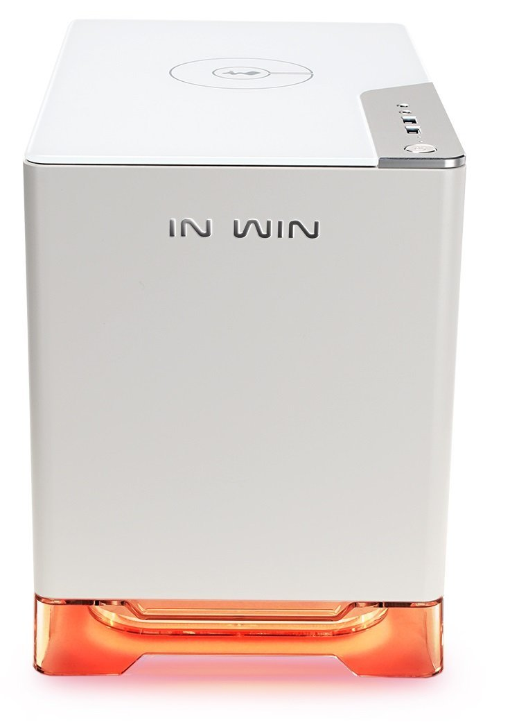 InWIn A1 Mini ITX Tower Case - White