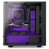 NZXT S340VR Elite Limited Purple Edition Computer Case