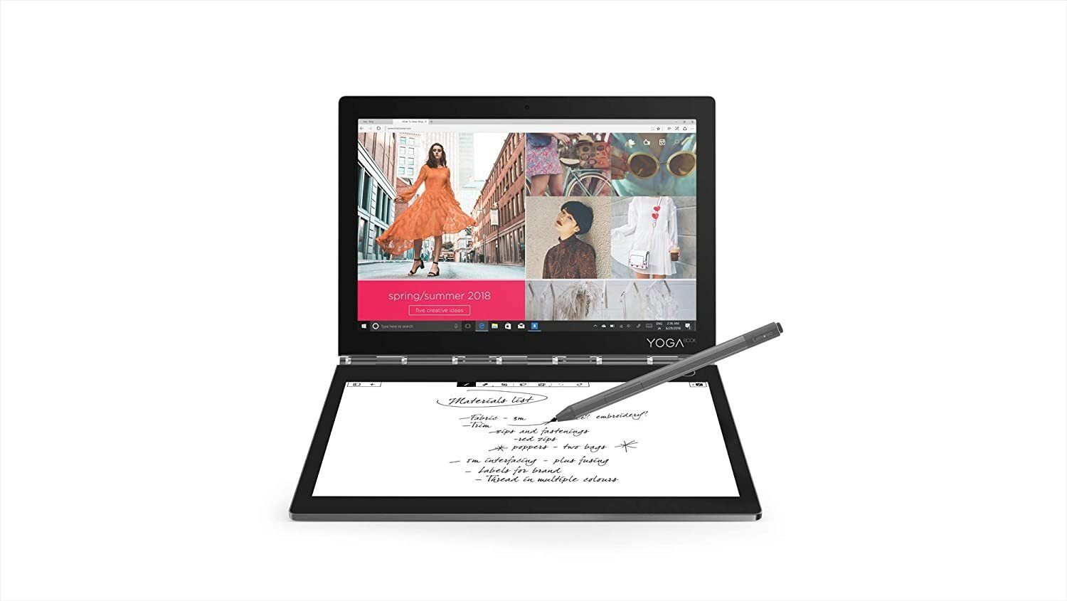 Lenovo YOGA BOOK C930 2-in-1 Tablet