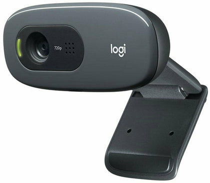 Logitech C270 HD USB Universal Webcam - Store 974 | ستور ٩٧٤