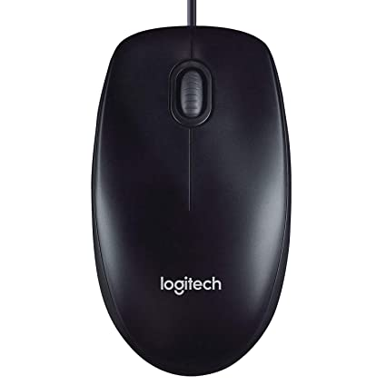 Logitech M90 Wired Optical Mouse - Black