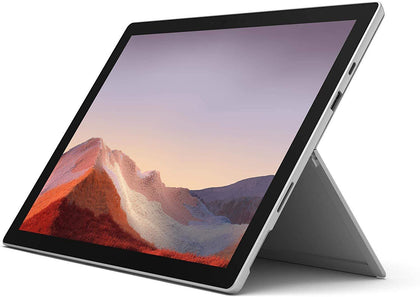 Microsoft Surface Pro 7, 2-in-1 Laptop, Intel Core i5-1035G4, 12.3 Inch, 128GB SSD, 8GB RAM, Intel® Iris™ Plus Graphics, Win10, No Keyboard, Platinum - Store 974 | ستور ٩٧٤