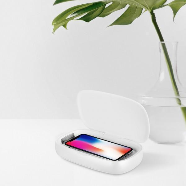 Momax - Q.UV Box Wireless Charging + UV Sanitizing Box
