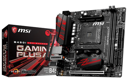 MSI B450I Gaming Plus AC - AMD Mini ITX Motherboard - Store 974 | ستور ٩٧٤