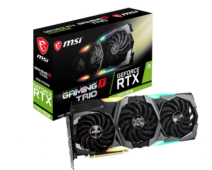 MSI GeForce RTX 2080 Super Gaming X Trio 8GB GDDR6 PCI-E Gen 4x4 - Graphics Card - Store 974 | ستور ٩٧٤