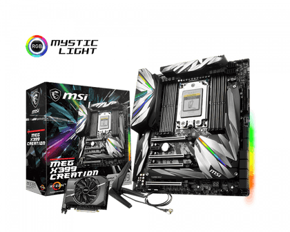 MSI MEG X399 Creation - AMD E-ATX Motherboard - Store 974 | ستور ٩٧٤
