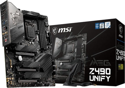 MSI MEG Z490 Unify Intel Motherboard - Store 974 | ستور ٩٧٤