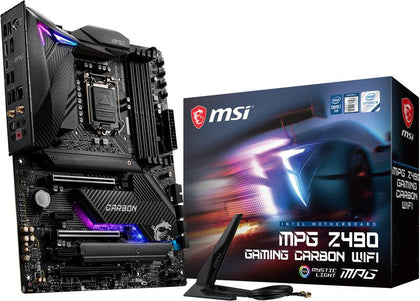 MSI MPG Z490 Gaming Carbon Wifi Intel Motherboard - Store 974 | ستور ٩٧٤