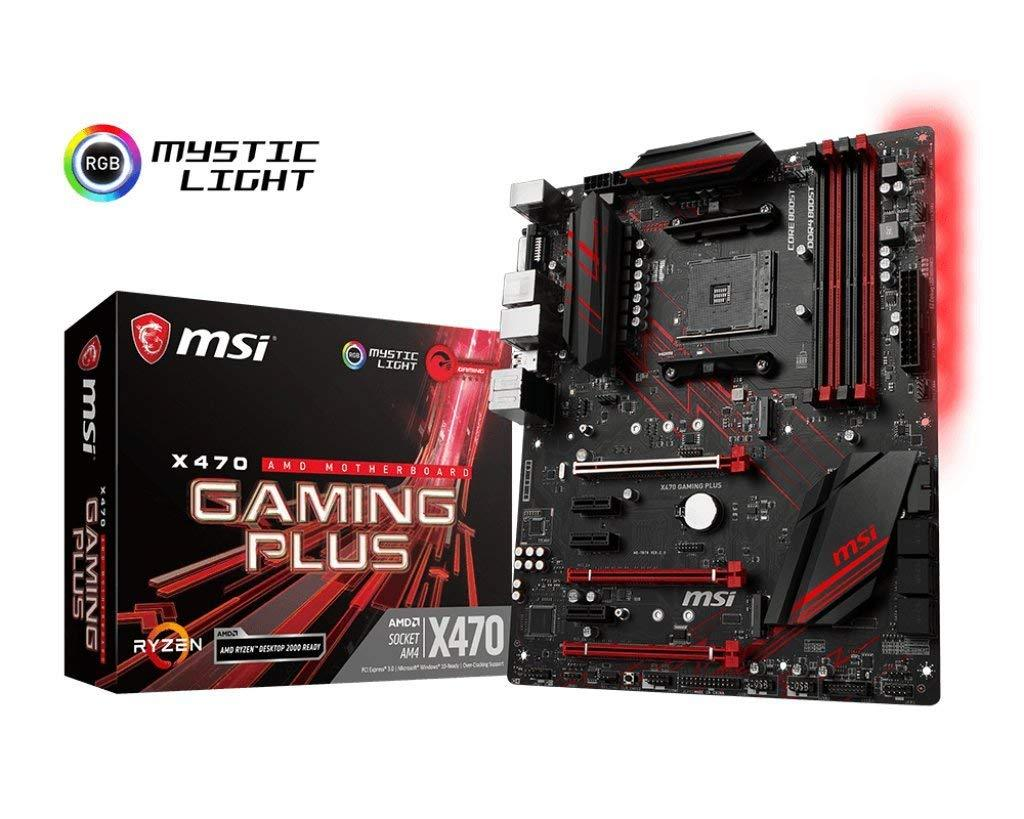 MSI X470 Gaming Plus - AMD ATX Motherboard