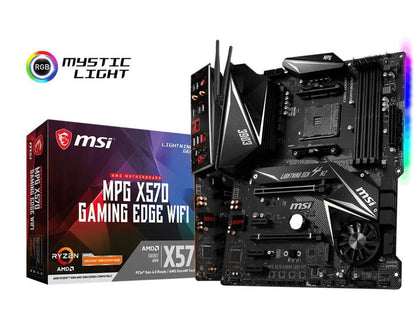 MSI X570 Gaming Edge WiFi - AMD ATX Motherboard - Store 974 | ستور ٩٧٤