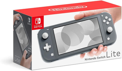 Nintendo Console Switch Lite 32G - Grey Color - Store 974 | ستور ٩٧٤