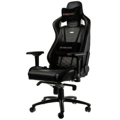 Noblechairs Epic Series - Black/Gold - Store 974 | ستور ٩٧٤