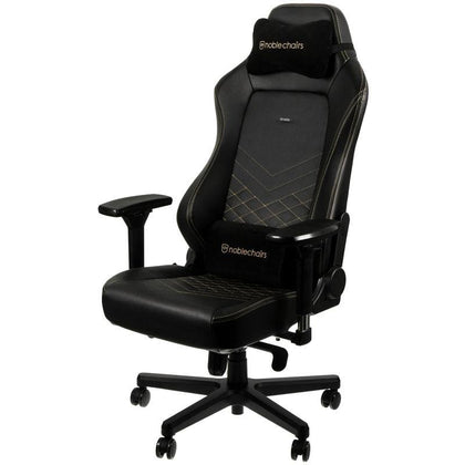 Noblechairs Hero Gaming Chair -Black/Gold - Store 974 | ستور ٩٧٤
