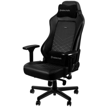 Noblechairs Hero Gaming Chair - Black/Platinum White - Store 974 | ستور ٩٧٤