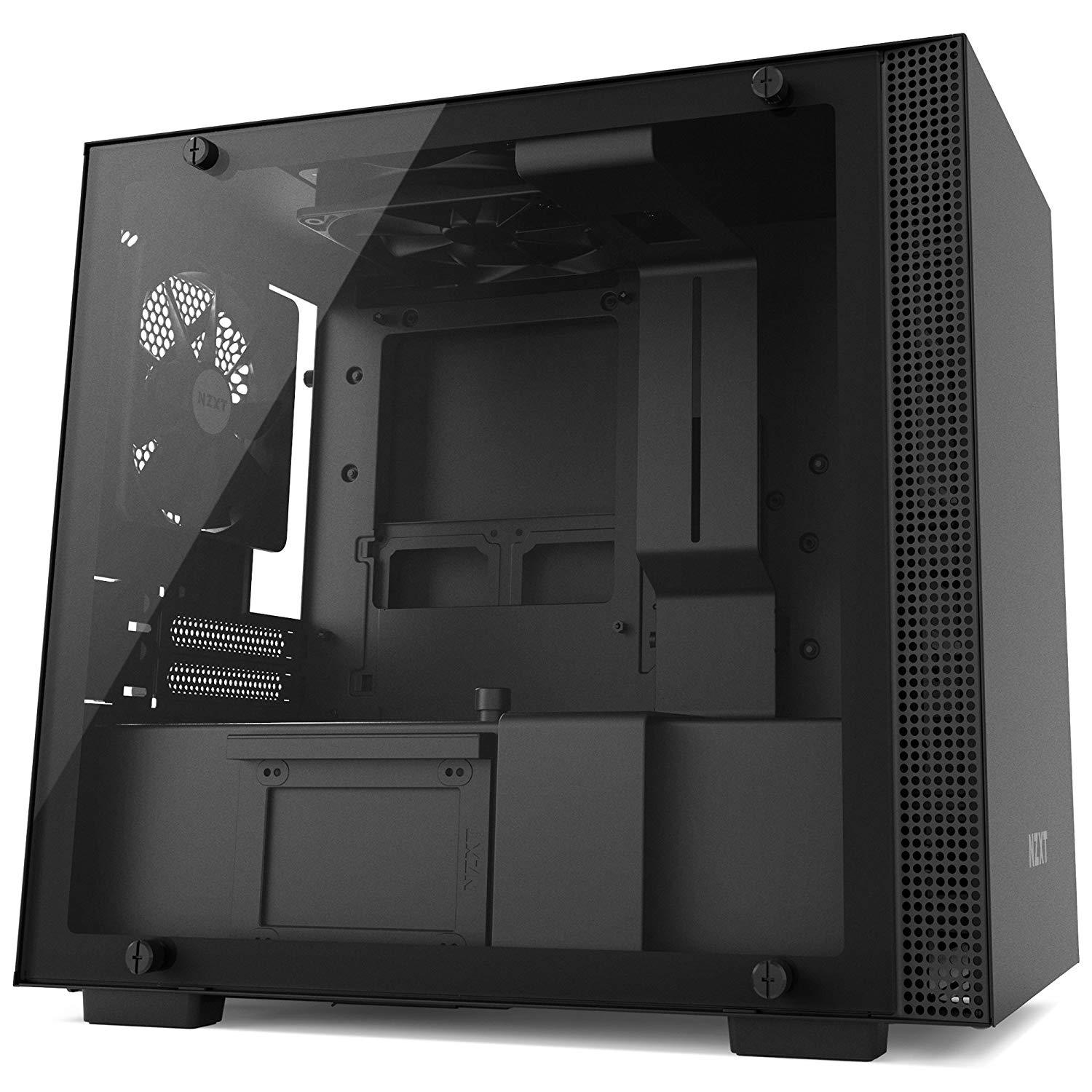 NZXT H200 Mini ITX Mini Tower Case - Black