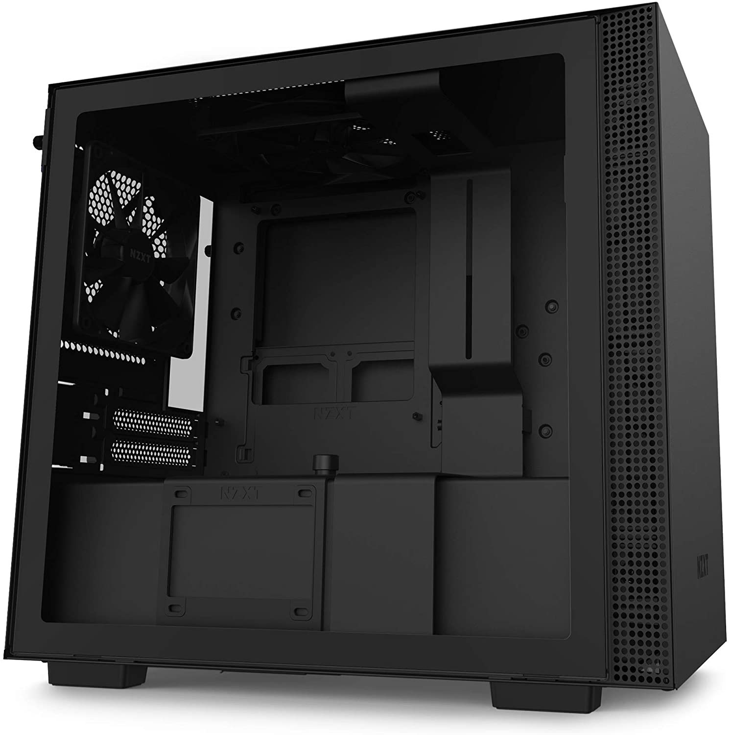 NZXT H210 Mini-ITX PC Gaming Case - Black
