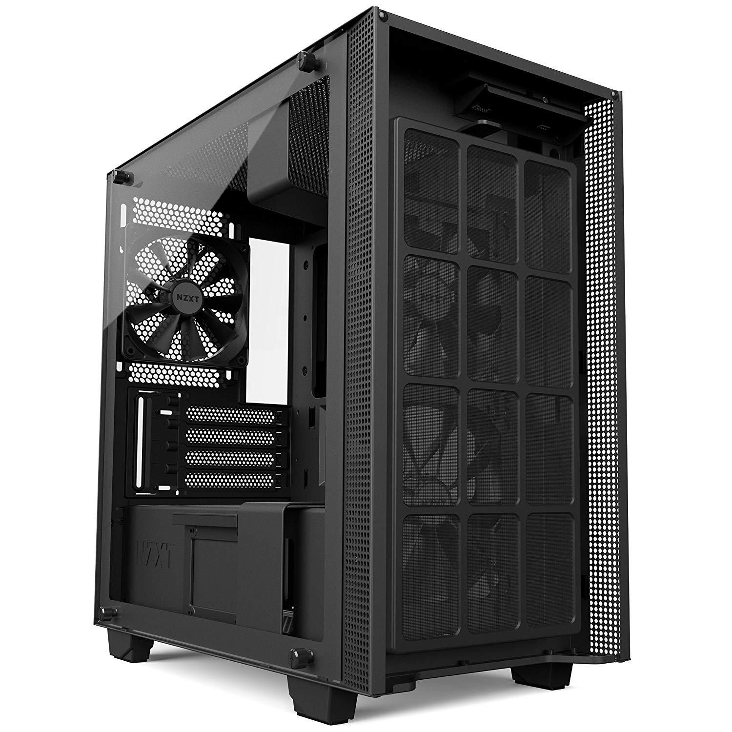 NZXT H400 Micro ATX Mini Tower Case - Black