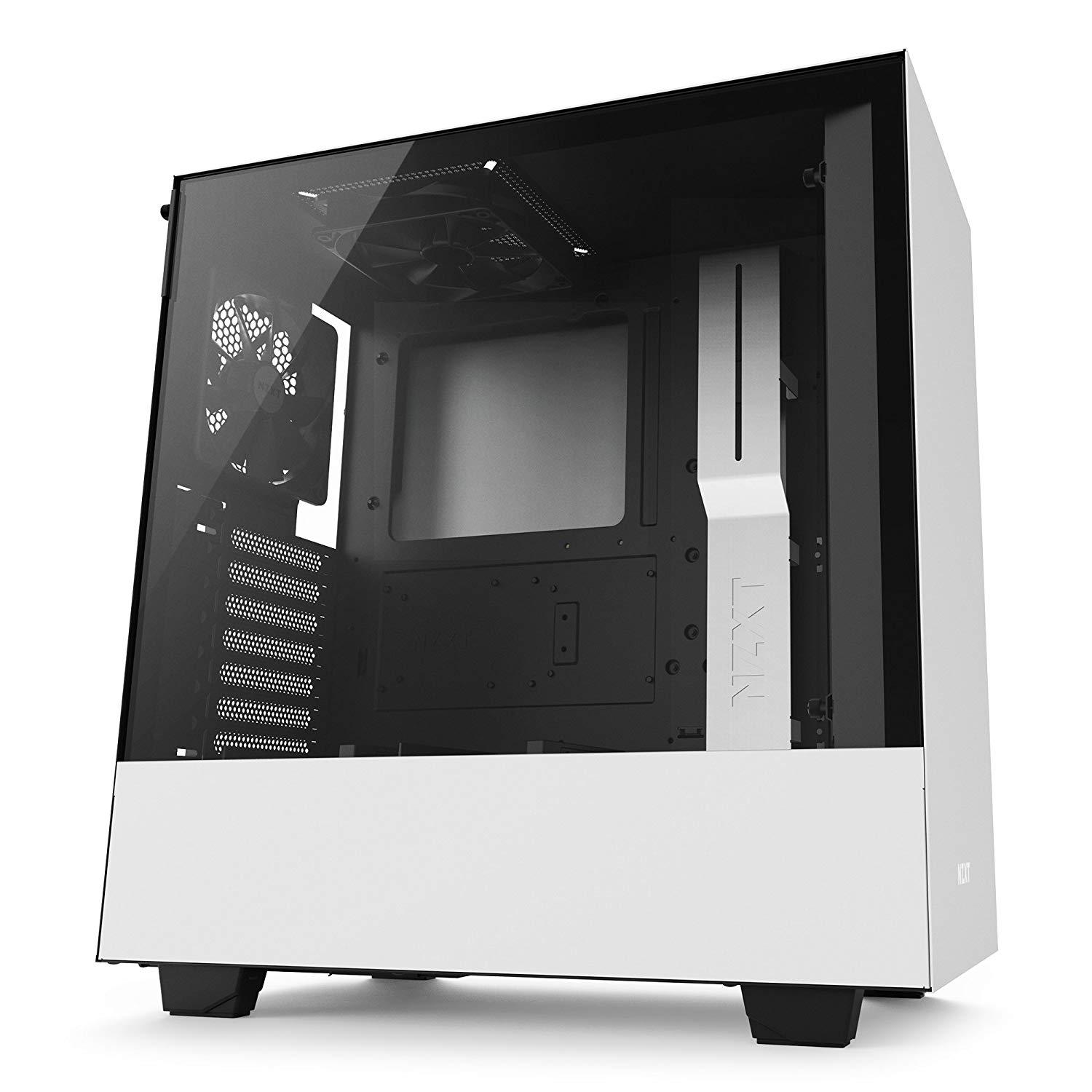 NZXT H500 ATX Mid Tower Case - White