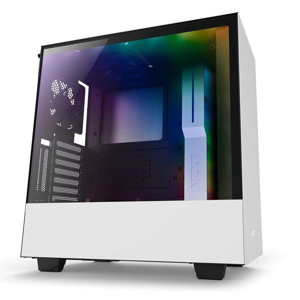 NZXT H500i ATX Mid Tower Case - White
