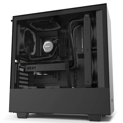NZXT H510i ATX Mid Tower Case - Black - Store 974 | ستور ٩٧٤