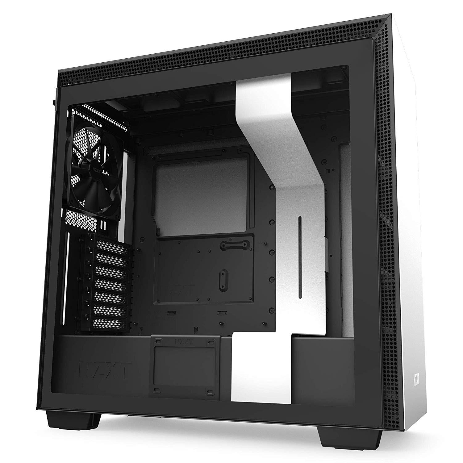 NZXT H710 ATX Mid Tower Case - Black/White