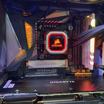 ( Pre-Owned ) Gaming Pc Intel Core i9-9900k with RTX 2080ti - Store 974 | ستور ٩٧٤