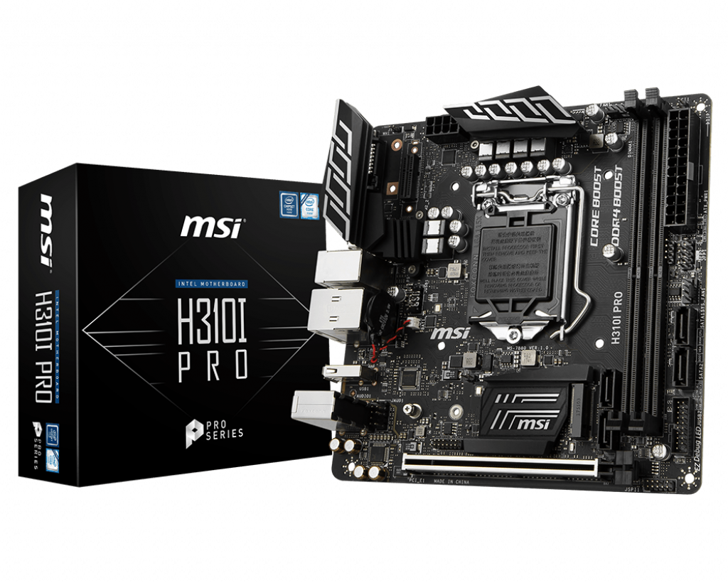 MSI H310I PRO MOTHERBOARD