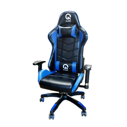 QUBE Levin Gaming Chair D2012001B - Black/Blue - Store 974 | ستور ٩٧٤
