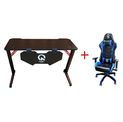 Qube Levin Gaming Table + Gaming Chair Bundle - Model Two - Store 974 | ستور ٩٧٤