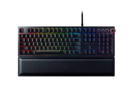 Razer Huntsman Elite Opto-Mechanical Chroma Keyboard - Razer Purple - Store 974 | ستور ٩٧٤