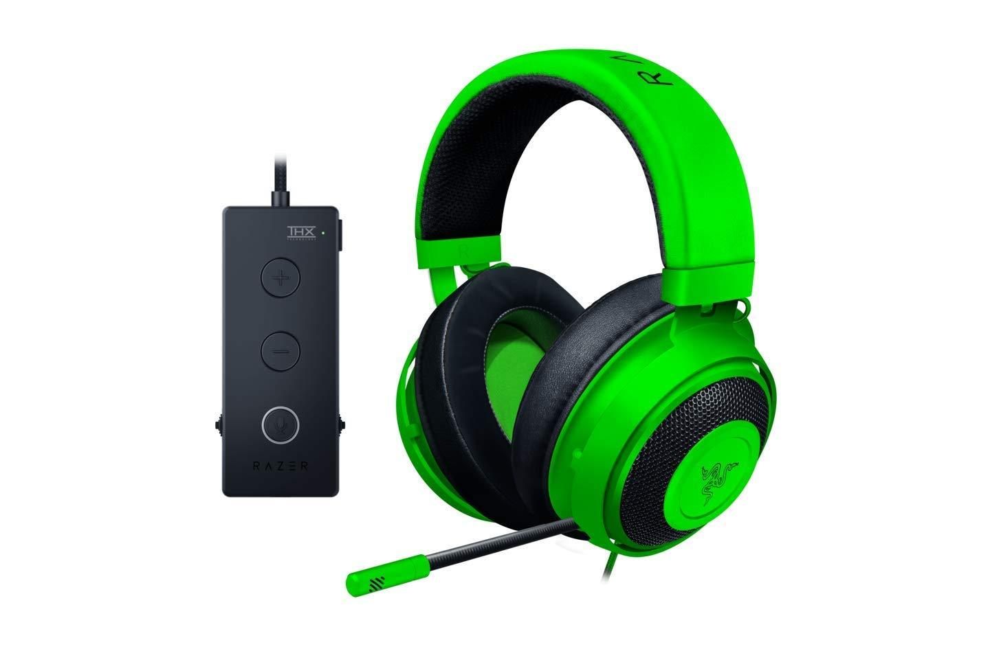 Razer Kraken Tournament Edition Wired Gaming Headset - Green