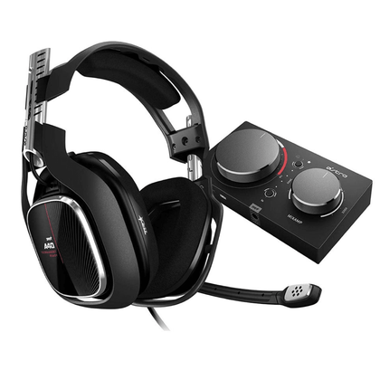 Astro A40 TR Headset + Mix Amp Pro Gen - Red - Store 974 | ستور ٩٧٤