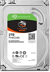 "Seagate FireCuda Gaming 2TB 2.5"" Internal SATA SSHD"