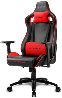 Sharkoon Elbrus 2 Gaming Chair-Black/Red - Store 974 | ستور ٩٧٤