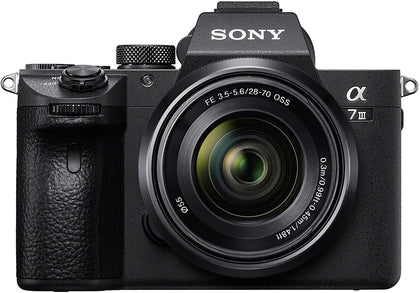 Sony ILCE-7M3K/BC Alpha a7 III Mirrorless Digital Camera With 28-70mm Lens - Store 974 | ستور ٩٧٤