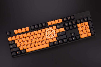 Tai-Hao 104 Key PBT Keycaps - Orange Halloween - Store 974 | ستور ٩٧٤