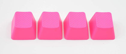 Tai-Hao 4 Key ABS Rubber Keycaps - Neon Pink - Store 974 | ستور ٩٧٤