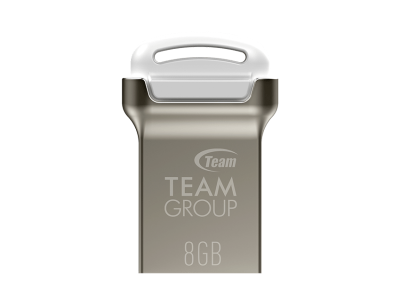 Team Group C161 8GB USB 3.0 Flash Drive - White - Store 974 | ستور ٩٧٤