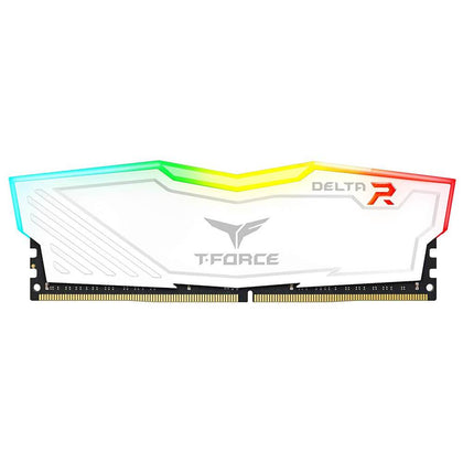 Team Group T-Force Delta R DDR4 8GB 3000MHz-White - Store 974 | ستور ٩٧٤