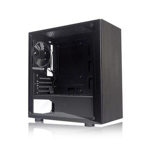Tecware Nexus M TG Micro ATX Mini Tower Case - Black