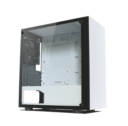 Tecware Nexus M TG Micro ATX Mini Tower Case - White - Store 974 | ستور ٩٧٤