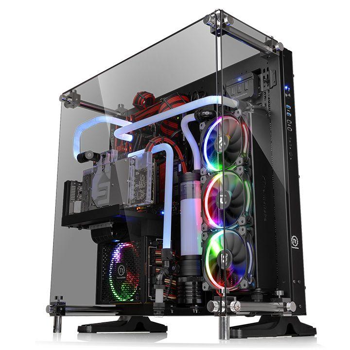 Thermaltake Core P5 Tempered Glass Edition  TG/Black/Wall Mount