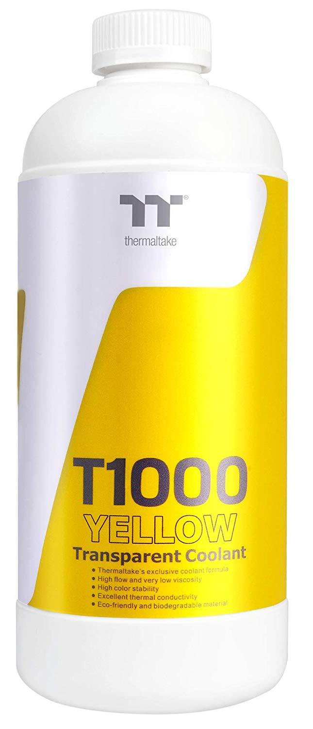 Thermaltake T1000 Clear Coolant - Yellow