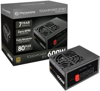 Thermaltake Toughpower SFX 600W 80+ Gold Fully Modular SFX - Store 974 | ستور ٩٧٤