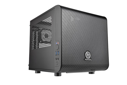 Thermaltake V1 Cube Micro ATX Mini Tower Case - Black Edition - Store 974 | ستور ٩٧٤