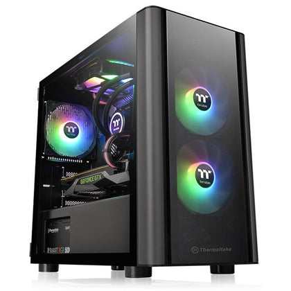Thermaltake V150 Tempered Glass Micro Case - Black - Store 974 | ستور ٩٧٤